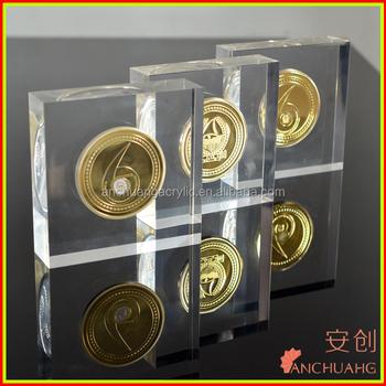 Acrylic Coin Display Stand_souvenir Coin Display_challenge Coin Display -  Buy Acrylic Coin Display Box,Coin Display Cases,Coin Display Frames Product