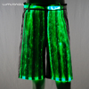 Fiber Optic Festival Shorts led pants carnival costumes for teens