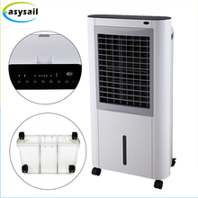 Floor Standing Evaporative Mobile Air Conditioner Portable Home Air Conditioners With Water Level Visual Window
