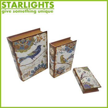 Nested Novelty Small Wooden Decorative Gift Boxes Wholesale
