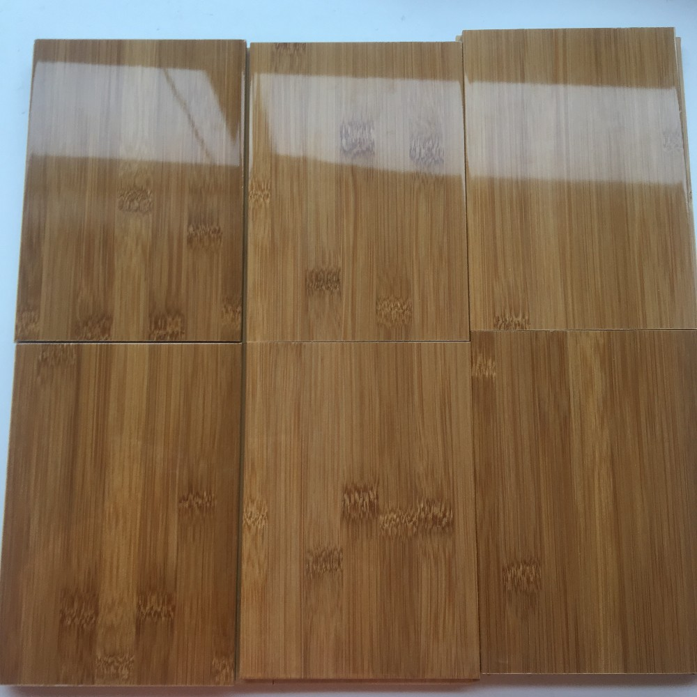 High Gloss Horizontal Bamboo Flooring With Click Lock