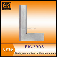 90 degree DIN875 /0 100x70mm knife edge angle square