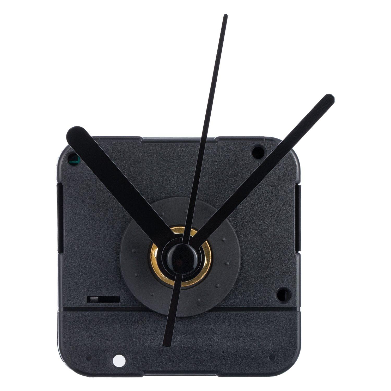 """Quartex Q-80 Quartz Battery Clock Movement 3//8/"""" Thick Dial 7//8/"""" Shaft SPADE"""