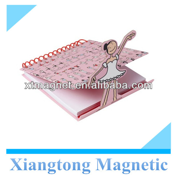 Hot Selling Ballet-Magnetic_Notebook/ Promotional Memo pad