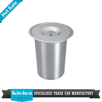 Tischplatte Mini Edelstahl Mülleimer Küche Abfallbehälter - Buy ...