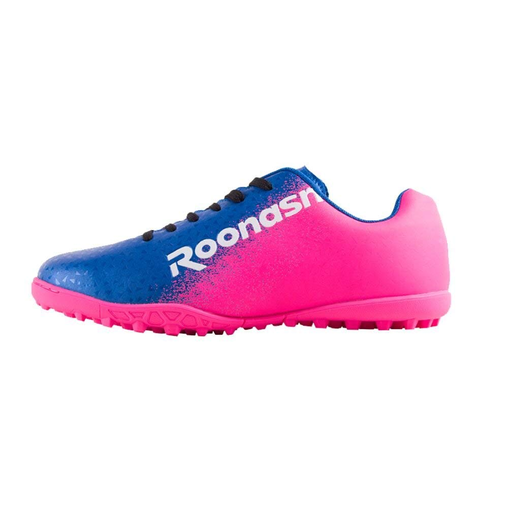 465729bdb Get Quotations · ROONASN Kids  Outdoor Indoor Soccer Shoes Athletic Soccer  Cleats Football Boots Shoes(Little