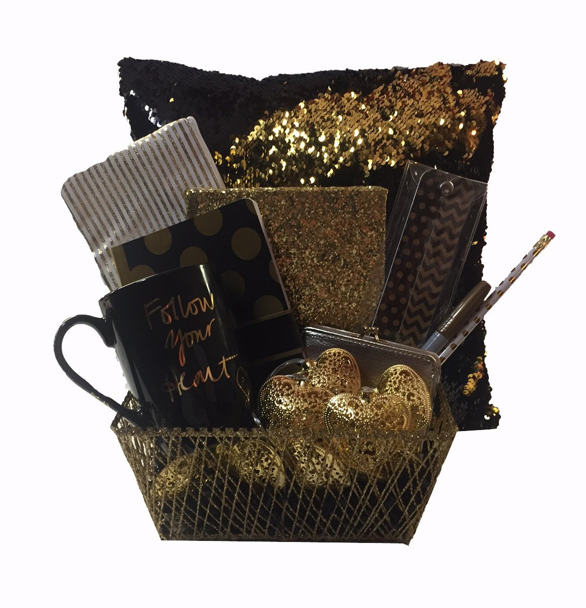 Cheap gold gift basket find gold gift basket deals on line at all that glitters is gold tween girl deluxe gift basket perfect for easter basket negle Gallery