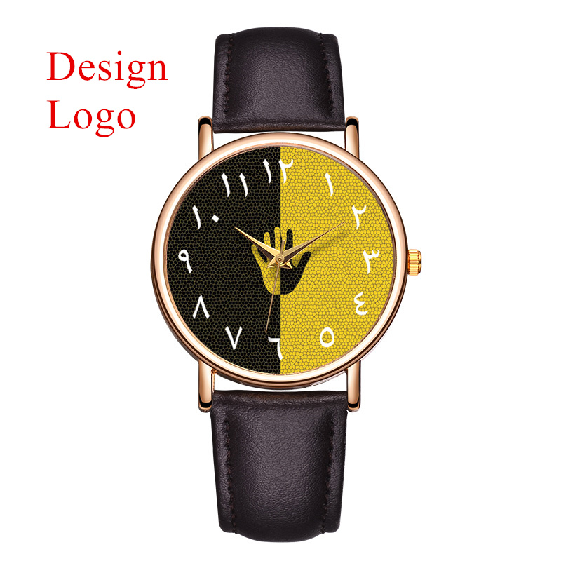Yiwu Target Watch Private Label Watches Men Wrist Your Logo Custom Watches
