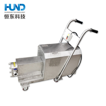 Food grade thick liquid chocolate toothpaste transfer rotary lobe pump