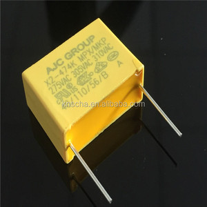 AJC Group suppression x2 film capacitor,Metalized film capacitors,hot sale in Russia market