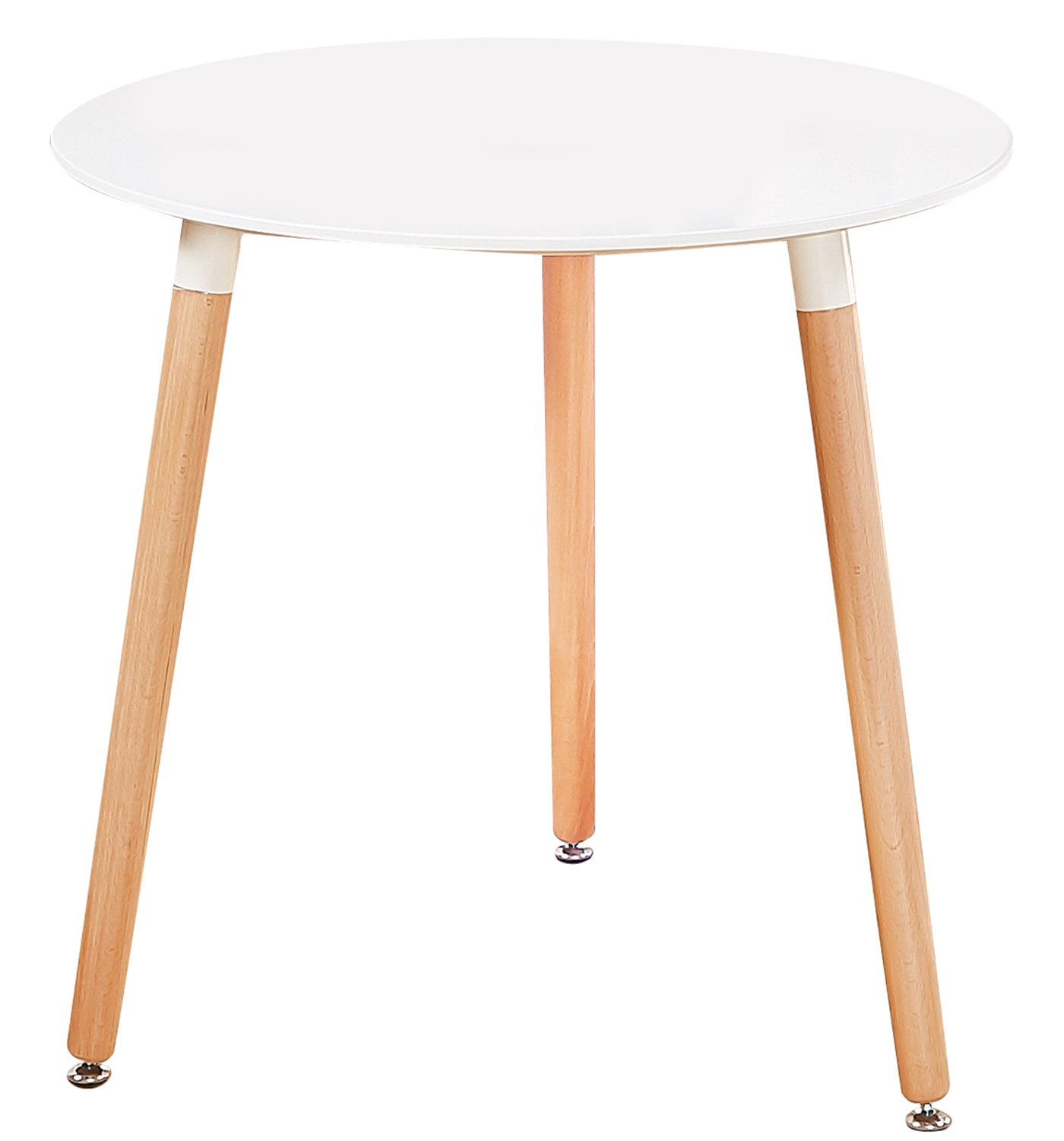 e078323a9ec6 Get Quotations · Green Forest Dining Table Modern Round Table White Coffee  Table for Kitchen Dining Room Leisure Table