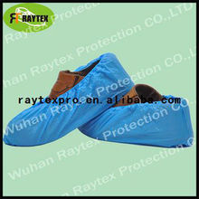 Disposable nonwoven shoe cover for hospital