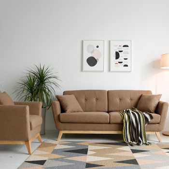 2018 Newest Fabric Scandinavian Sofa