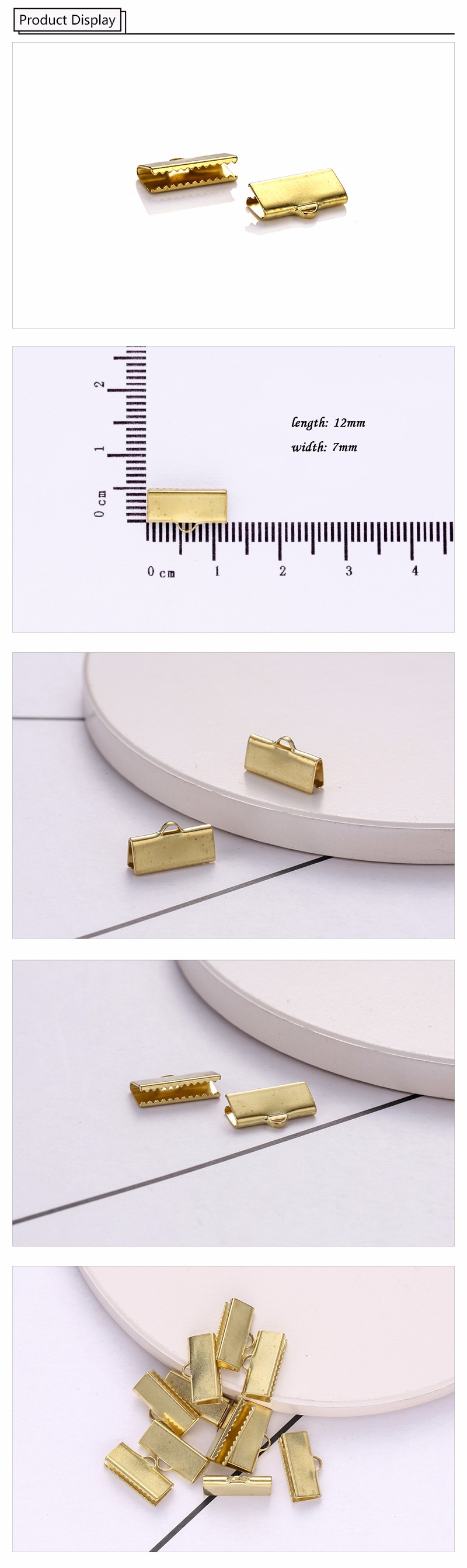 China Wholesale Custom Unique Jewelry Clasp Manufacturer