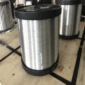 High quality electro hot dipped spool galvanized wire