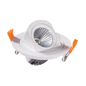Wholesale price LED Spotlight 12W COB high quality gimbal head led adjustable spot light 2 Years warranty