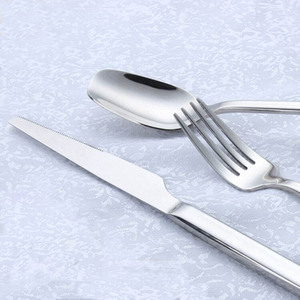Hotel Favor Spoon Knife Fork Silver Coated Cutlery Buy Direct From China Factory