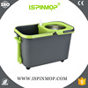 ISPINMOP Easy magic mop 360 with mop bucket
