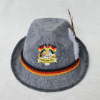 MHH130 Party Festival Custom Swiss German Oktoberfest Bavarian Alpine felt hat, custom printed hats