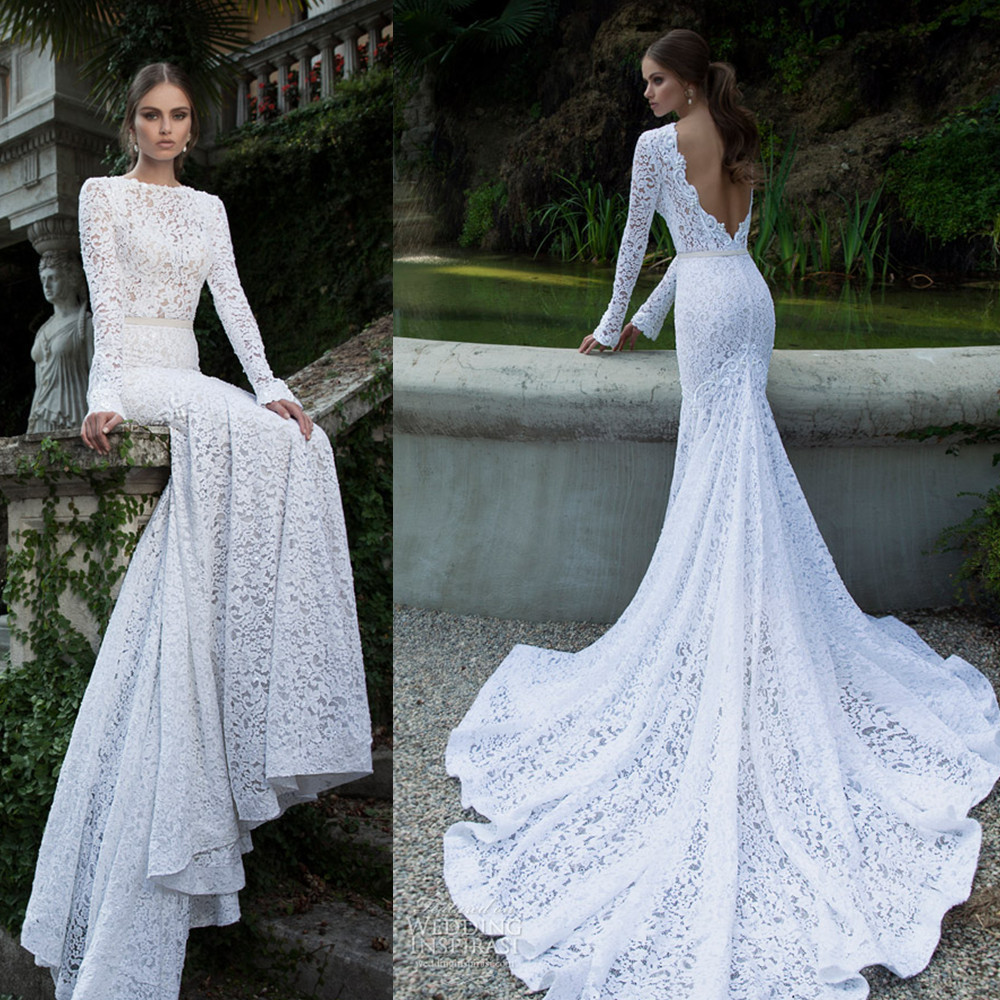 2014-vestidos-de-noiva-lace-long-sleeve-backless-cathedral