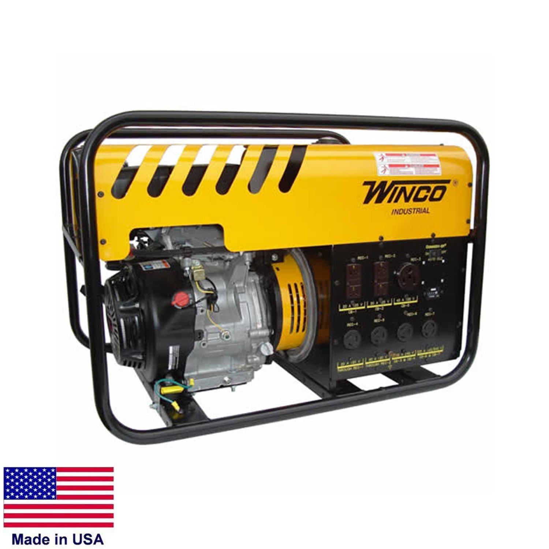 Get Quotations · Portable Generator   6,000 Watt   6 KW   120/240V   11 Hp  Honda