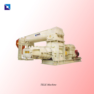 Double stage vacuum extruder machine d'extrusion for clay