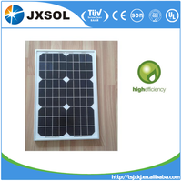 25W 18V monocrystalline Solar Panel of mini solar panel