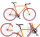 CE Approved Colorful single speed fixed bike fixie bicycle carbon fixie road bike