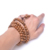 Multilayer 108 Wood Beads Tibetan Buddhist Mala Prayer Bracelet