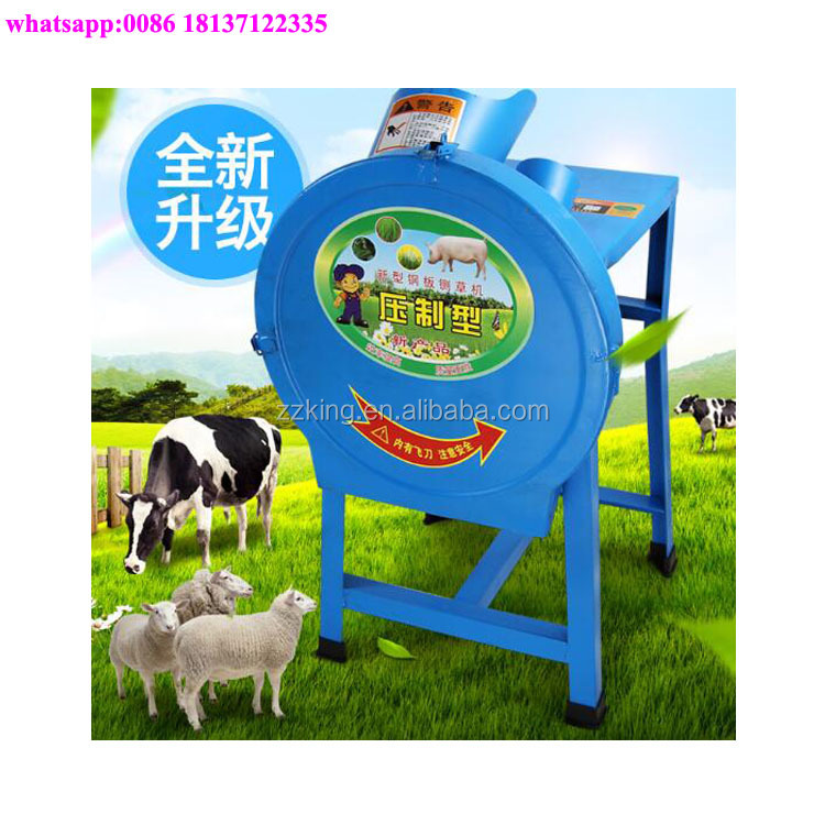 Home use green feed fodder cutting / shredding machine /forage chopper