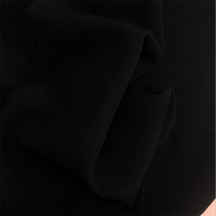 Muslim Textile formal black dubai abaya wool peach fabric
