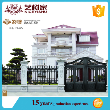 2016 Shijiazhuang Manufacturer Latest House Aluminum Main Gate ...