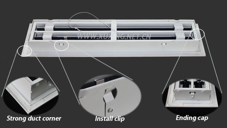 Hvac Aluminum Linear Slot Diffuser Supply Air Grille Buy