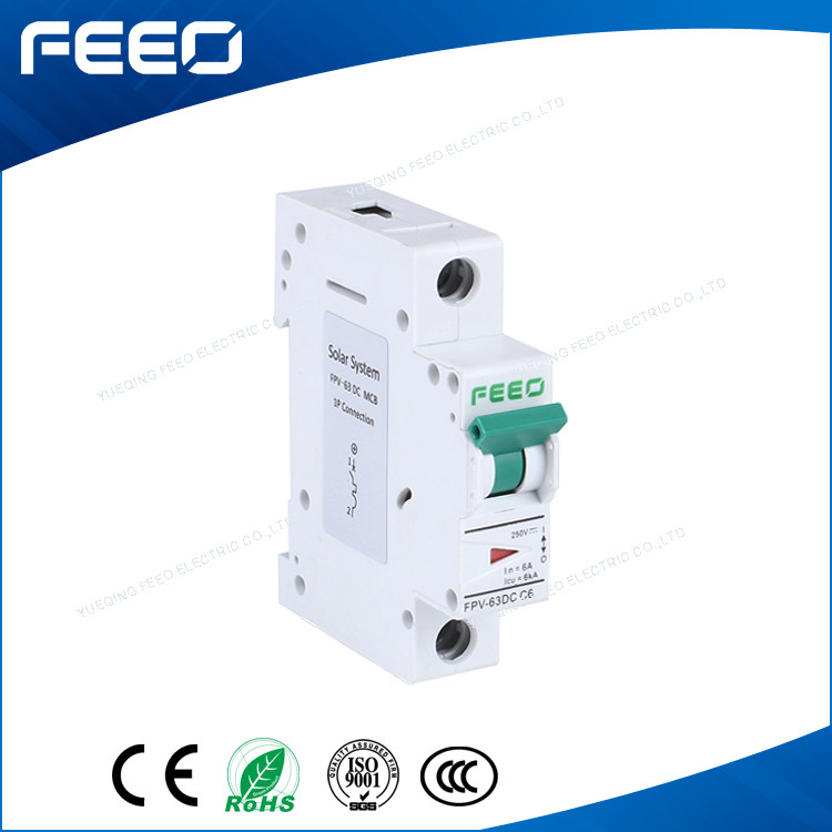 Electrical Switch DC Protection Device 1P 110V DC MCB