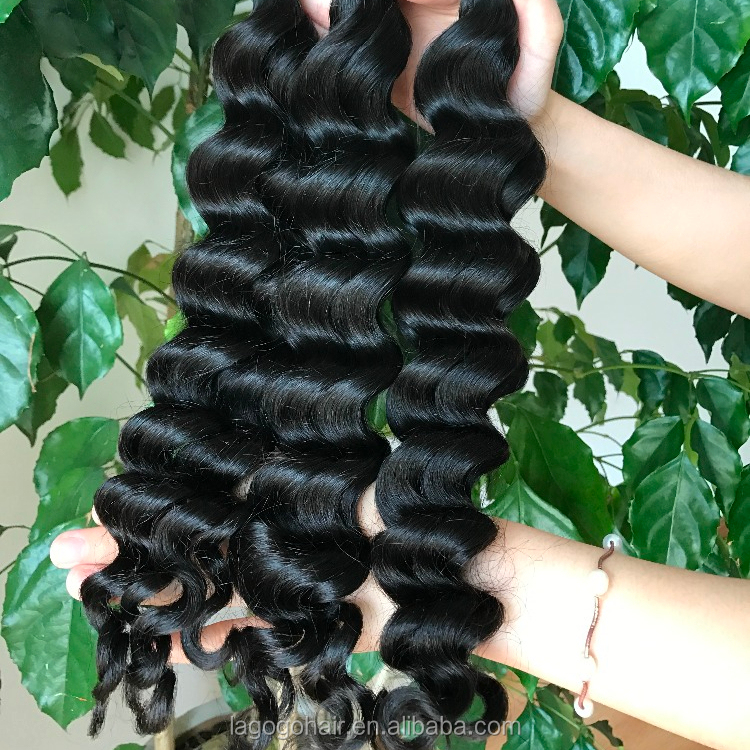 Wholesale virgin original brazilian human hair weave,virgin brazilian hair bundles,8a grade mink brazilian hair Exotic wave, Natural color