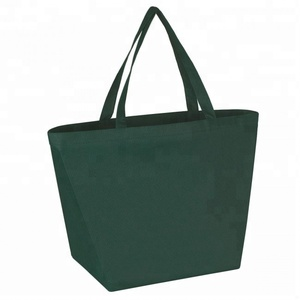 Durable Heavy Duty Supermarket Large PP Non Woven Budget Shopper Tote Bag with Logo