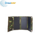 Best outdoor portable solar charger cell phone with double USB