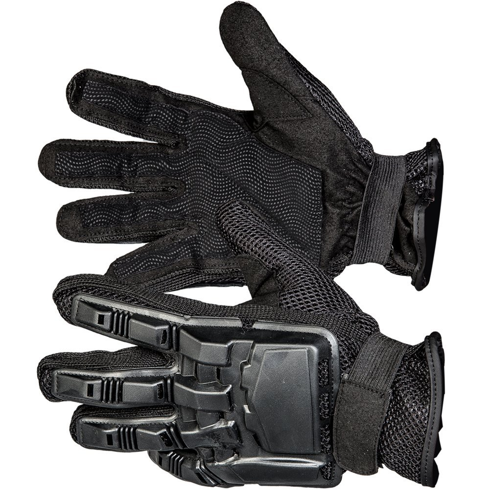 MolGym Mens Hard Knuckle Tactical Leather Gloves Full Finger Sport/Fitness/Military Combat/Riding/Shooting Outdoor