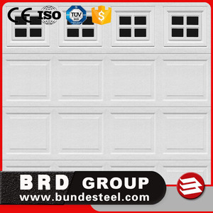 Window inserts automatic aluminum garage door prices