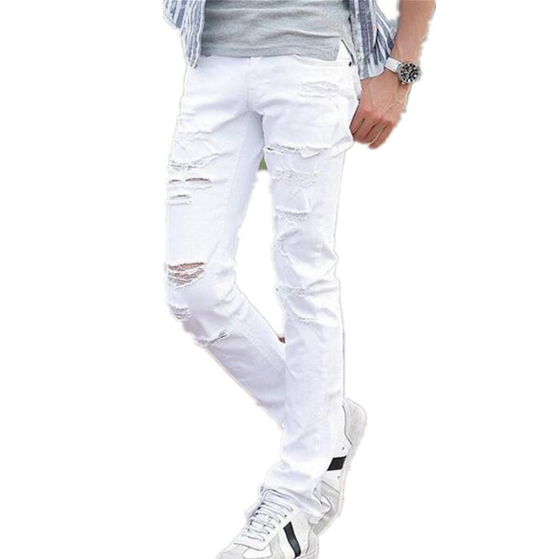 Mens White Jeans 94