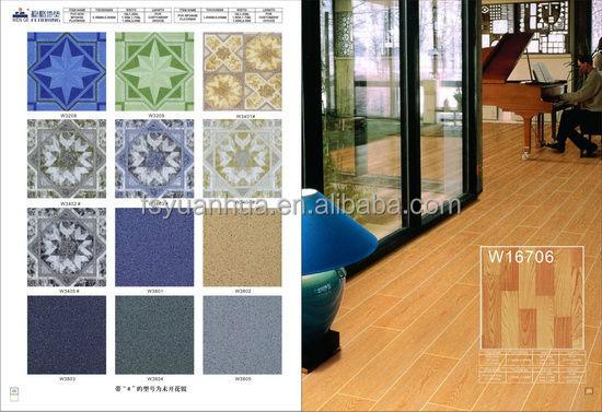 various designed indoor pvc sponge flooring-pvc roll flooring-1.0MM/1.2MM