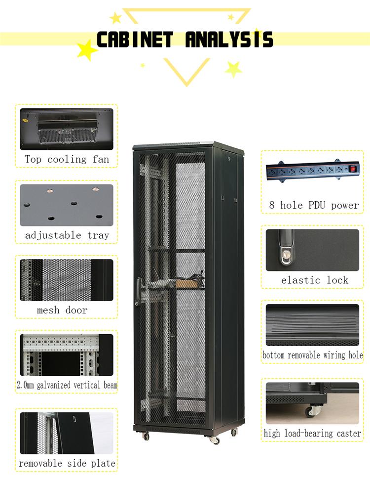 Manufacturer  buy server racks Center Server Network Rack 19 Inch Network Cabinet customized
