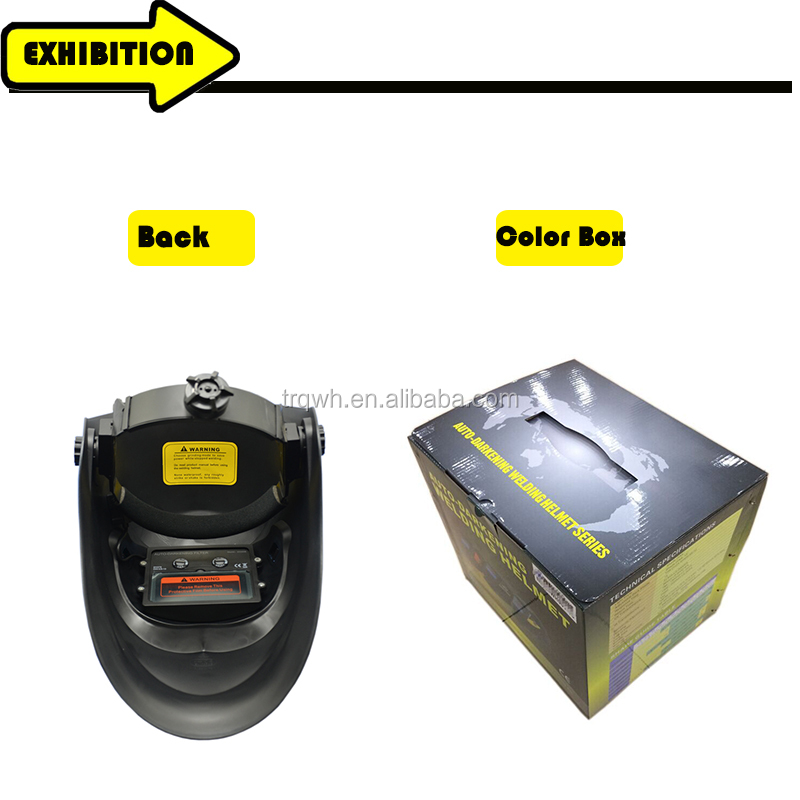 China factory supply fast delivery argon-arc ansi standard welding mask lighted welding helmets