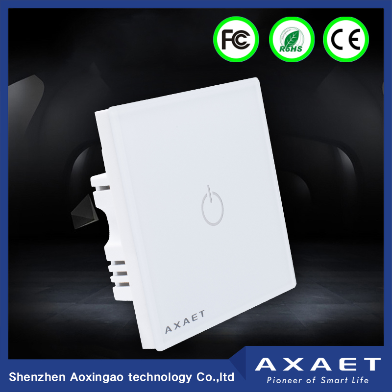 AXAET bluetooth low energy control switch android smart switch auto on off switch with touch control