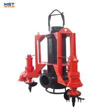 submersible river dredging sand pump with motor