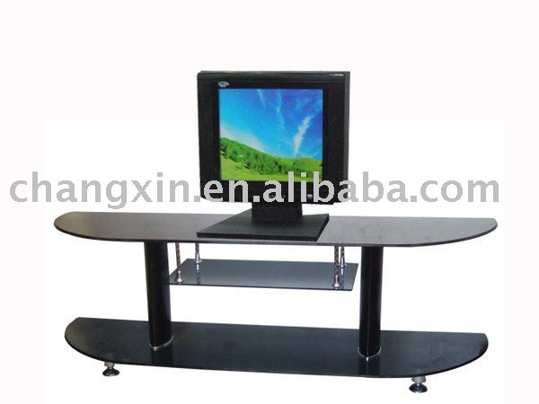 2015 modern design hot sale LCD glass TV rack wholesale