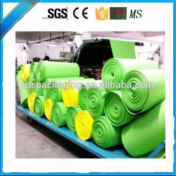 pvc coated soft eva foam