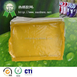 Best Selling EVA non-woven fabric adhesives glue block for shoe making shoes material hot melt adhesive