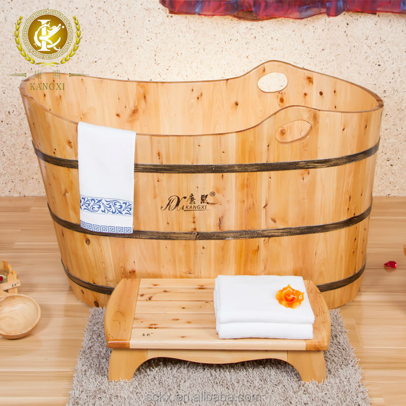 customized size handmade wooden soaking tubs complete bathroom sets japan style