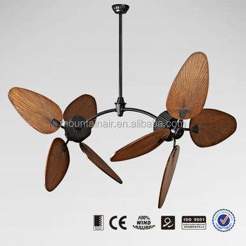Outdoor Ceiling Fan Duo Motor 52yft